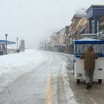 Snow on Boardwalk in AC. #acpress http://t.co/HaGovZCfeX
