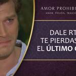 ¡Empezó! Dale RT y no te pierdas AHORA el ÚLTIMO CAPÍTULO de #AmorProhibido > http://t.co/zCzZwRcXWB http://t.co/4NOD5ZFNfQ