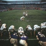 Unseen Viking Photos -1969 NFL Playoff Bowl - Dallas vs Minnesota - losers of NFL Div Playoffs @PeteBercich http://t.co/LQ26H4jDcs