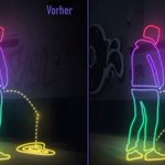 Moradores de Hamburgo se vingam de mijões com tinta que repele urina. http://t.co/Qsx0B5MYIm http://t.co/L58mQAqQgd