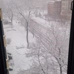 @capitalweather Very snowy in downtown DC. Still coming down strong! http://t.co/qoDGpjSWHg