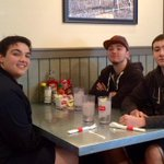 .@friscoisd Centennial HS students enjoying the #snowday @NormasCafe http://t.co/jlR8glDehG