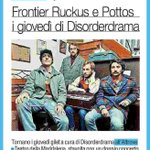 Stasera h 2130 @frontierruckus e #ThePottos per un nuovo #giovedigilet targato @disorderdrama! #Corrieremercantile http://t.co/zI0oQoggoH