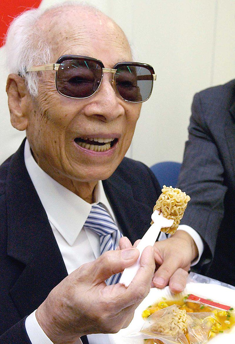 happy 105 to momofuku ando, inventor of instant ramen + today's google doodle: http://t.co/gyMGrOaBlH #NoodleDoodle http://t.co/MYetN0BScc
