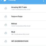 RT @Suryakiran44444: @actor_Nikhil surya vs surya trending on Hyderabad.