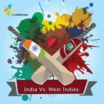 Will India leave the Windies feeling Blue? Or will the Windies paint the town Maroon? #INDvWI #Holi http://t.co/ivWsng94J3