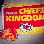 I have four #ChiefsKingdom flags up for grabs! Plus four #Chiefs shirts! RT and follow to win! http://t.co/WN9Y521K6e
