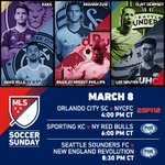.@MLS comes to @FOXSports1 Sunday with @SportingKCs season opener ->> http://t.co/OUqdaUZvuX. http://t.co/7D8YOs3q7X