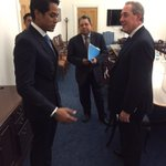 Meeting with @USTradeRep Ambassador Michael Froman on a snowy day in DC. http://t.co/MuSes0vaHc