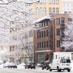 The light snow makes for some great pictures! @thedeanhotel #Providence #GoProvidence http://t.co/UqKJjUOWNk
