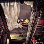 Our elevator shaft is currently at 3 floors high! #CurtissHotel #Buffalo #DowntownBuffalo http://t.co/OtDpsFmoCw