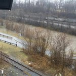 Roanoke River at Wasena rising at a quick pace @WDBJ7Weather @WDBJ7 http://t.co/A0SV2gKTyQ