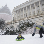 They came. They protested. They sledded on Capitol Hill. http://t.co/hTyuNzo7C5 http://t.co/l5p5huf2wT