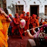 """Happy holi""""@timesofindia: Happy Holi!  Check out these stunning photos of #LathmarHoli http://t.co/4HDWFG3hhp http://t.co/H4es9Ailkn"""""""