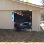 It was an SUV into home in #Portorange... Owner & wife were in a different room and heard what sounded like Bomb http://t.co/o19kId0JRj