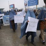 Afghan men wear burqas to campaign for womens rights http://t.co/PcccT8Z6he http://t.co/SVffWYwEJa