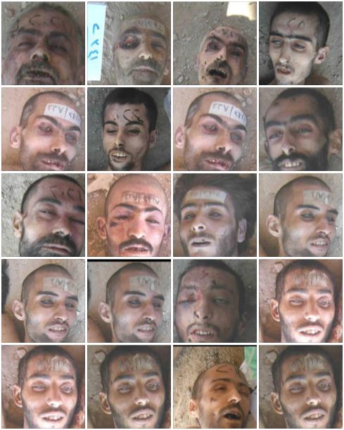 Yusuf Özhan (@Yusuf_Ozhan): Suriye rejim hapishanelerinde katledilen 4 bin kişinin resimleri yayınlandı. https://t.co/4Nom7Aalsd http://t.co/YuYPLJxR4R