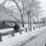 Snowy UN in NYC http://t.co/75RJXhMfHF