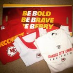 Time for another giveaway! #Chiefs shirts and a Be Bold, Be Brave, Be Berry poster! RT and follow to win. http://t.co/rPNZvz2s0t