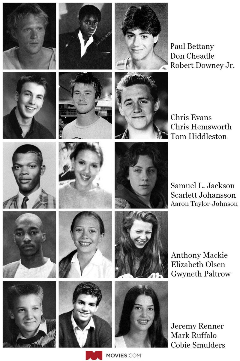 If the @Avengers cast all went to school together, their yearbook page would look like this http://t.co/WgpBTRC8zU http://t.co/PI5OxSH4Gm