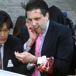 North Korea reportedly applauds a knife attack on the US ambassador to South Korea. http://t.co/66MQCi58bp #9News http://t.co/DbPC4PMKkR