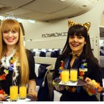 Who knew flying on Purim could be so much fun?! Yesterdays #ELAL passengers got to enjoy a special Purim experience! http://t.co/bSbzxCMatC