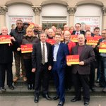 Great to have @IainMcNicol in Bedford today and on the #LabourDoorstep in Castle with @patrickhall4mp @TimDouglasHR http://t.co/DHXXWw3ueq