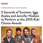 5SOS IS GONNA PERFORM FOR THE KCAS ???????????????????????? #vote5sos #kca http://t.co/AqmasjP5pT