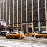 A snowy NYC makes for a picturesque MSG! http://t.co/rEIkr6EVXq