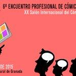 VI Encuentro Profesional del cómic en Granada 13 marzo en @Cajaruralgr #comicGR http://t.co/GJTR5wFaiK http://t.co/Cdtl40QlBG