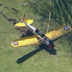 Harrison Ford reportedly alert and conscious after crashing his vintage Ryan PT-22 plane. http://t.co/Lhgs1K9Qux http://t.co/K8x64acnU0