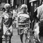 Two Women on Essex Street, New York, 1975 - Photo by Edmund V. Gillon (MCNY) | #NYC #NY http://t.co/cIDMXMTUmX