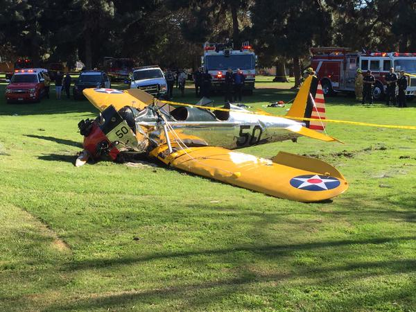 """Sorry about the mess"" #HarrisonFord http://t.co/2YIksxCWUr"