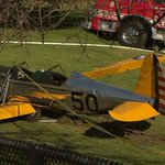 Actor Harrison Ford was injured Thursday in a vintage WWII training plane crash, according to Variety, NBC News. http://t.co/qpeFdD4xgT
