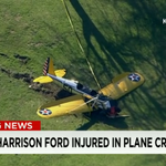 Actor #HarrisonFord, 72, was reportedly seriously injured after crash-landing a small plane. http://t.co/7m9aBGhNbl http://t.co/EHA5N6ooW1