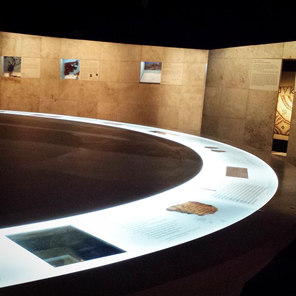 Getting a peek of the Dead Sea Scrolls @casciencecenter. The Exhibition opens March 10. #deadseascrolls #losangeles http://t.co/sDunkLrBWb