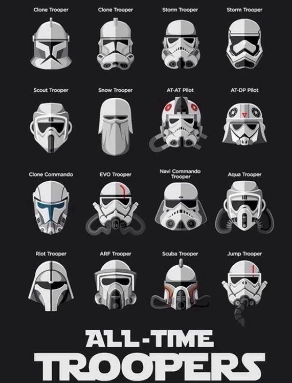 All-time troopers #starwars http://t.co/ypcBF4rnk9