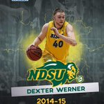 Congratulations to the Bismarck Bruiser - Dexter Werner - the Summit League 6th Man the Year! #BisonPride #BigDex http://t.co/Le74IL0dbd