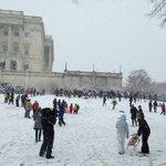 Children defy Capitol Police, sled on Capitol Hill Grounds. http://t.co/6NVs5JPOHw http://t.co/hPVyW35w5Y