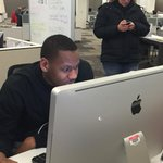 Hes here! From now until 4:30, Lavoy Allen is in charge of @indystarsports. Join the convo with #AskLavoy. http://t.co/O2mRkzOkhe