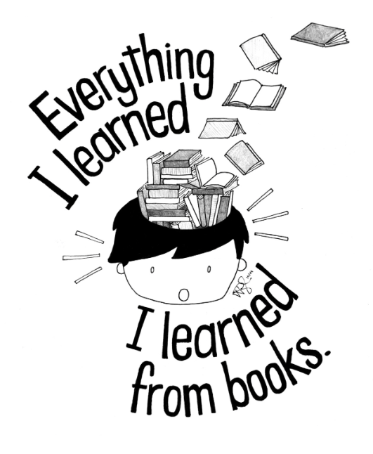 """Everything I learned, I learned from books."" #WorldBookDay http://t.co/uvgbgW8Oru"