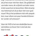"""VVD (blog Dijkhoff) vorig najaar: """"Liever hier in de bak, dan daar in Irak!"""" Rutte nu: """"Sneuvel maar in de woestijn!"""" http://t.co/ynXc1hfL9a"""