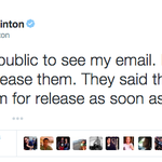 Last night's Tweet from @HillaryClinton has now been viewed 3.3M times. http://t.co/hYj0gBFJMk
