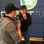 Last interview - @RobBanks_WYRK w @garthbrooks. And the press conference is a wrap. http://t.co/sd1tlhCLhC
