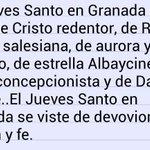 El Jueves Santo en Granada... @RedencionySalud  @PerdonAurora  @Pasionyestrella  @hdadconcepcion  @silenciogranada http://t.co/diBTPFxRid