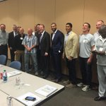 @chargers legends meeting with SD mayor @Kevin_Faulconer for #stadium talk @SaveOurBoltsSD @shawnemerriman @lazword http://t.co/hqfiiBCduA