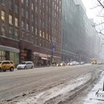 @BilldeBlasio #NYC is a mess! Ive never seen #NYC in this condition whats being done? @CBSNews be safe on the roads! http://t.co/z3Embv66r2