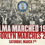 #Brooklyn Bridge march on Sat to commemorate 1965's #BloodySunday in #Selma. @BPEricAdams http://t.co/T0djlC3eqC http://t.co/tnvluSYx6P