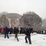 Dupont Circle under attack major snowball fight. @fox5newsdc http://t.co/7q17skTcdi