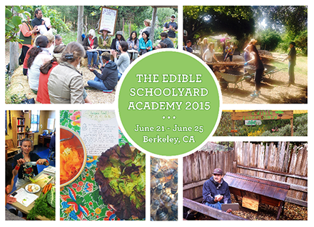 There's still time to apply to this summer's Edible Schoolyard Academy! All the details: http://t.co/CuGT22f3SG http://t.co/arAoegJZT2